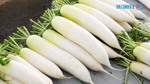 10 công dụng chữa bệnh hiệu quả từ củ cải trắng
