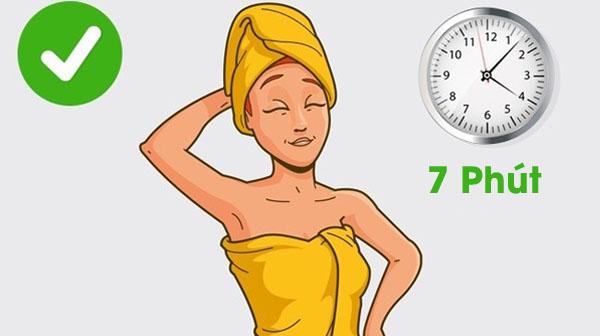 5 thói quen khi tắm gây hại cho da