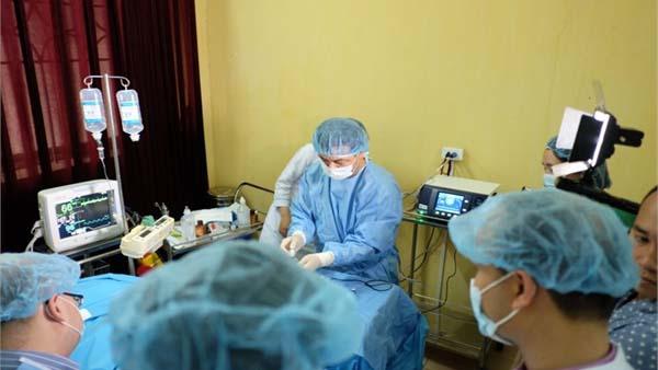 Điểu trị suy tĩnh mạch bằng sóng cao tần tại Hà Nội